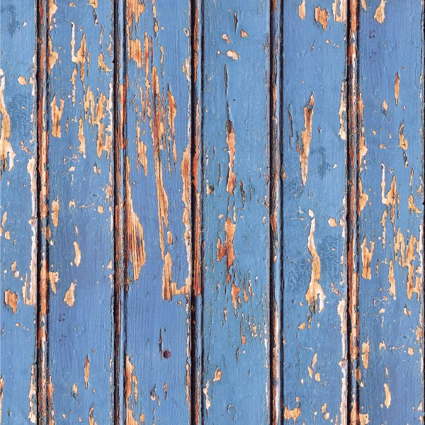 Blue woodwall