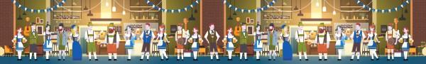 Oktoberfest 2 - 1,50m x 10m (HxB)