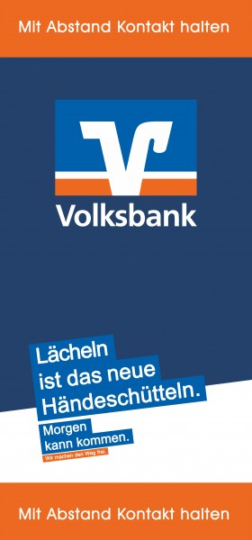 Volksbank 70x150cm