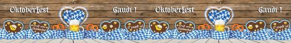 Oktoberfest 3 - 1,50m x 10m (HxB)
