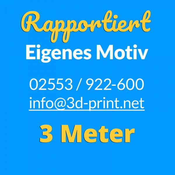 Eigenes Motiv 3 m Rapport