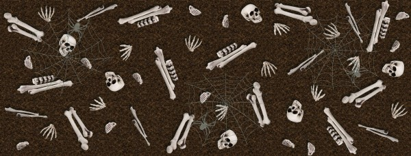 Carpet of bones